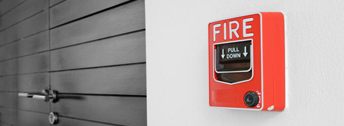 Fire alarm system in Kent
